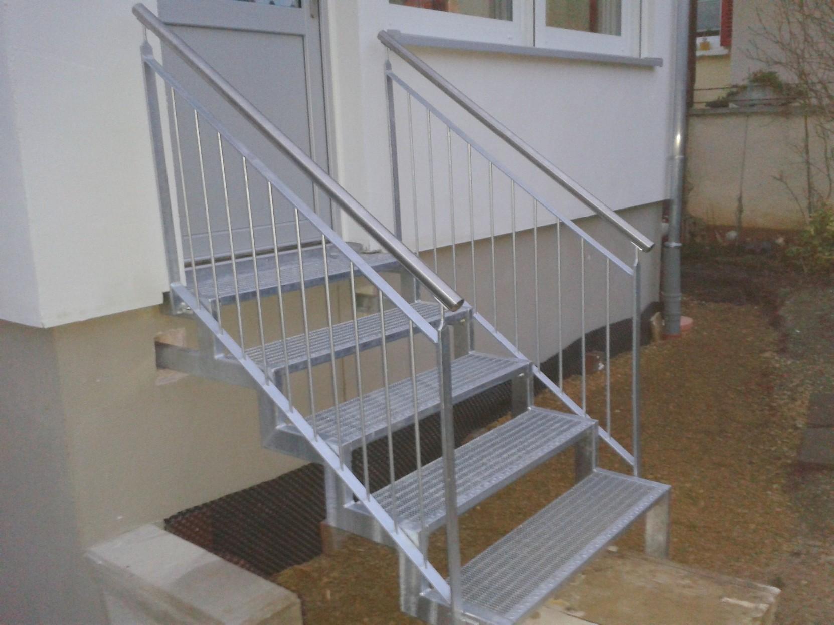treppe verzinkt