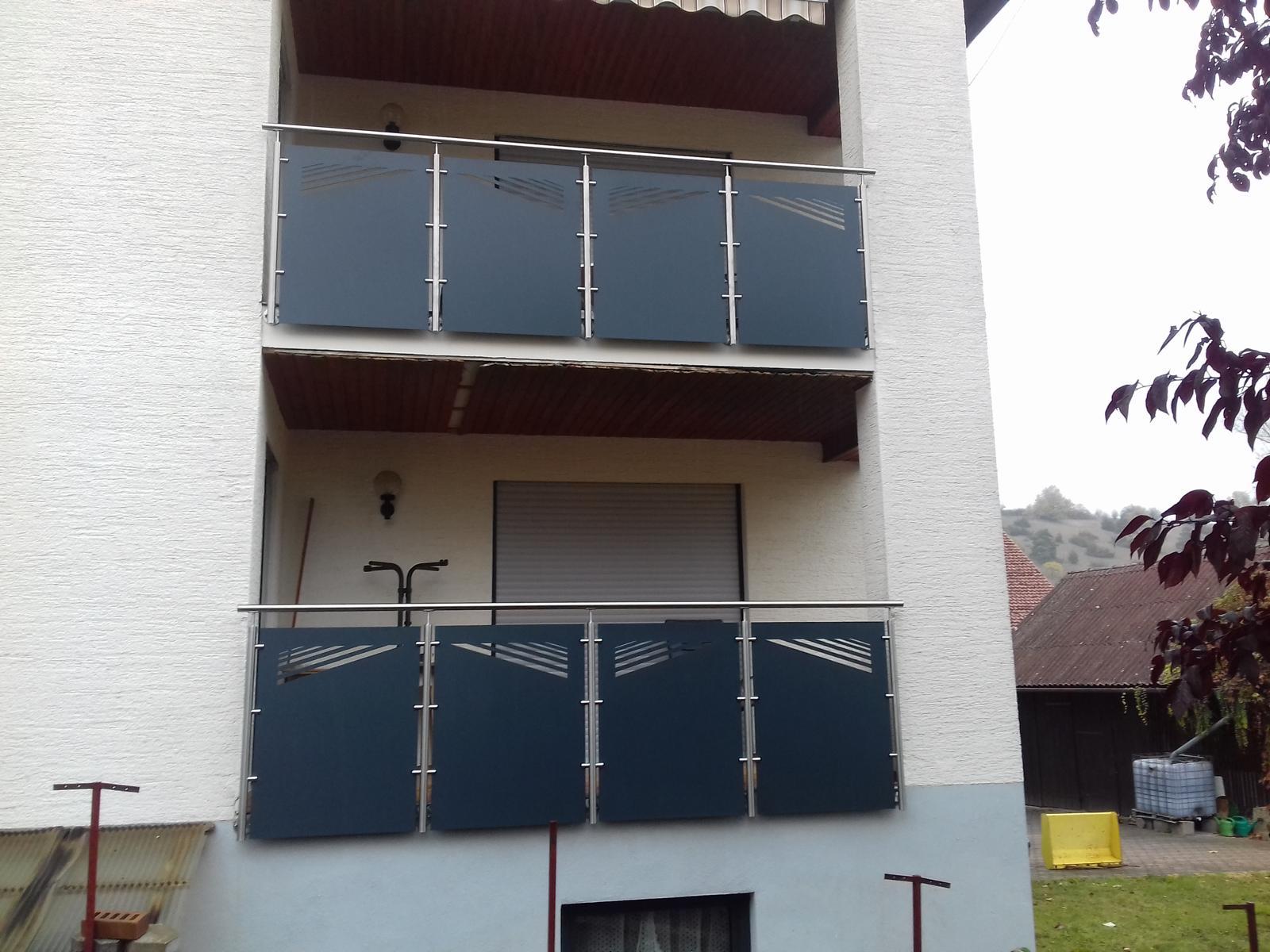 Balkone A Zaun Und Mehr De